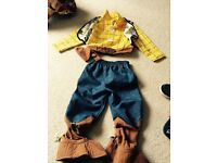 Woody 3-4 year dress up costume