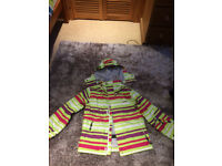 Girls ski jacket- never been worn- 140cm