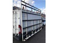 Large Aluminium Van Glass Rack
