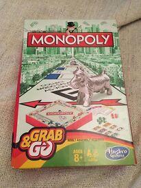 Portable travel Monopoly