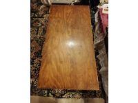 Wooden nursery table