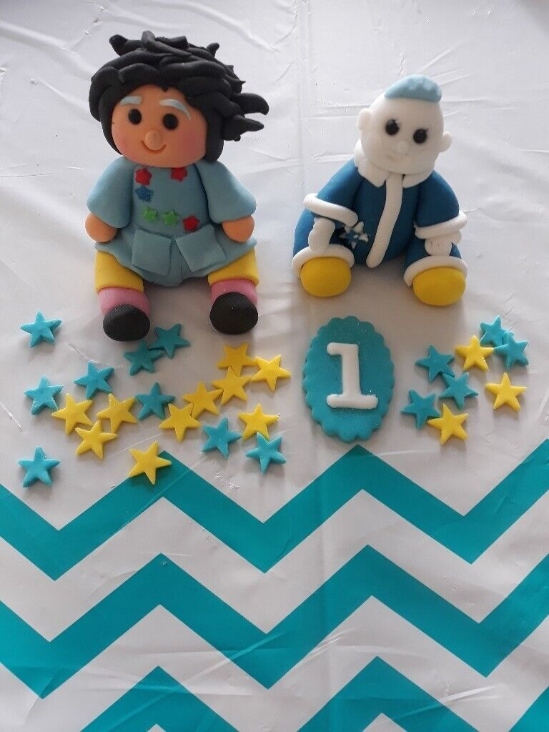 Cbeebies Moon Me Icing Characters For Birthday Cake