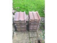 Reclaimed Roof Tiles - 100 tiles £50