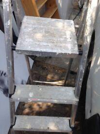 aluminium step ladder