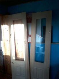 Pair internal sliding doors