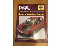 Ford Fiesta Haynes Workshop Manual 02 to 58 Reg