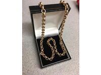 9ct gold belchor chain