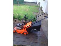 qualcast 450 series petrol lawnmower