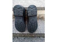 Timberland euro hikers UK 10 Black leather