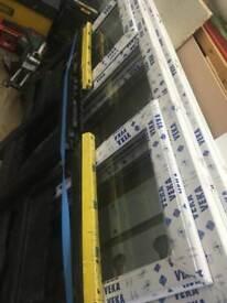 2 x pvc windows for sale.