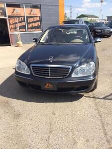 2003 Mercedes-Benz S-Class 4.3L/ LOADED/ LEATHER/ NAV/ 1 YR WARR