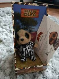 Safari baby Oleg, limited edition official plush compare the meerkat toy