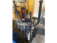 York Fitness Stepper Cardio Rower