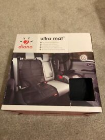 Diono ultra mat protector for baby and child car seat