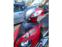 50 cc ksr moto sirion is only 12 months old, very low milage 17 km on the clock no mot for 2 years