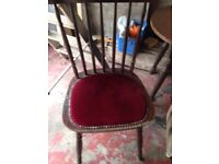 6 pub chairs