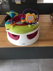 Mamas and Papas baby snug with activity tray