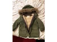 Zara boys coat 2-3yrs