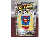 Brand New & Boxed - Superman Classic Pint Glass