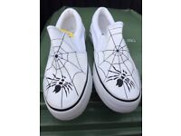 Hand painted Fully washable trainers Selling cheaper than wholesale in batches of 50