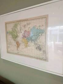 Ikea frame and print