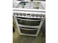 stoves gas cooker in white .sepreate grill .in vgc .free local delivery