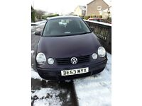 2003 volkswagon polo 1.2 purple 48500 miles