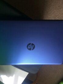 HP LAPTOP 4GB PURPLE +ACSESSORIES