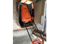 Flymo hover compact 330 lawnmower and strimmer