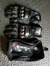 Dainese metal gloves xl