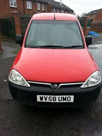 Vauxhall combo red van, slight dent on passenger side wing. Viewing welcome, no time wasters, £1250