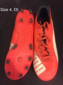 Football rugby boots