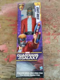 12 inch action figure of guardians of the galaxy (star lord)