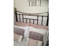 Double bed from next