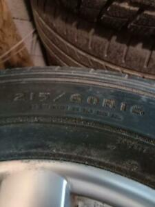 215/60 R16 summer tires with Hyundai mags. All size tyres available