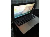 "Macbook air 2015 model 13"" i5-4ram-128ssd Excellent condition With Apple warranty until 2017"