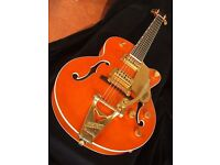 Gretsch Chet Atkins Orange Amber guitar