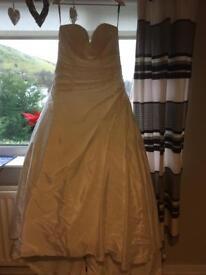 Eternity brides wedding dress
