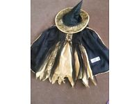 6-7 Witch Halloween Costume ONLY £3