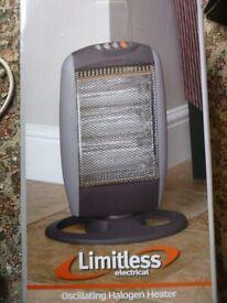 Limitless Oscillating Halogen Heater
