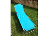 Brand New Brighton Reclining Sun Lounger - One clip out
