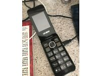 ALCATEL 2051X BIG BUTTON FLIP PHONE UNLOCKED