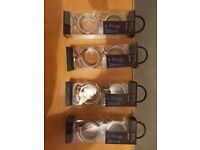 4 x 6 28mm-ring sets John Lewis curtain rings