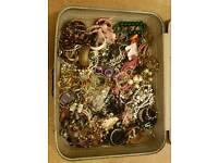 5kg bundle of costume jewellery - Job lot