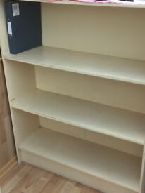 Extra deep book shelf