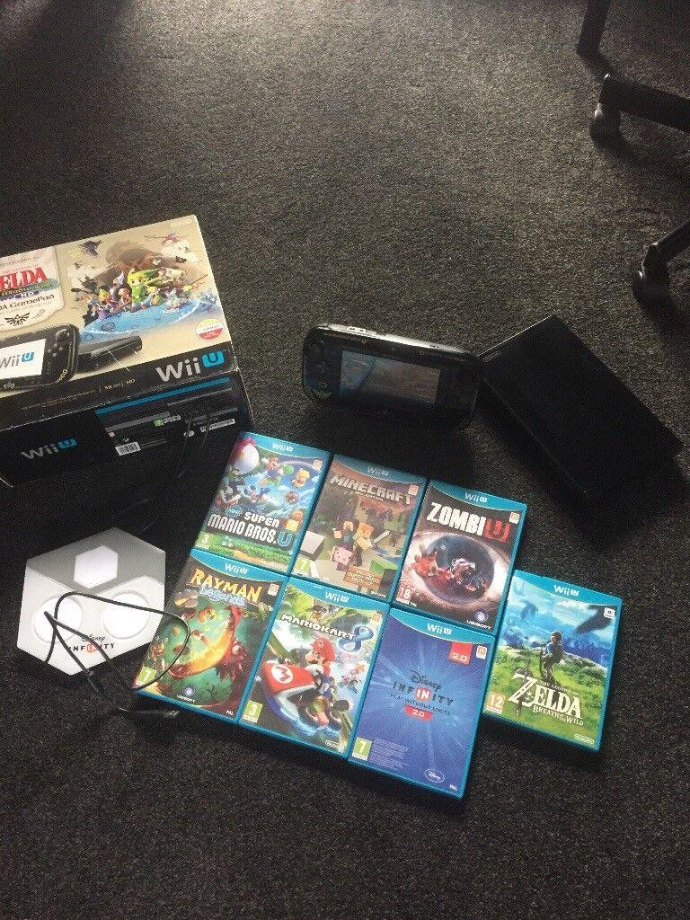 Wii U bundle complete with games