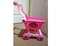 Disney Princess shopping trolley
