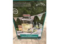 Brand new 8 litre Kilner Drinks Jar