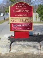 Highland Park - 450/460 Highland Park - 1 Bedroom