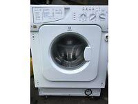 Brand new Indesit integrated washing machine